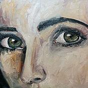 Картины и панно ручной работы. Ярмарка Мастеров - ручная работа Глаза. Handmade.