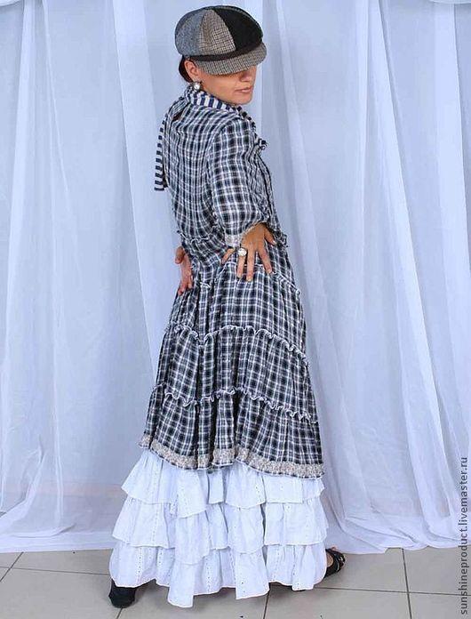 """Платья ручной работы. Ярмарка Мастеров - ручная работа. Купить Платье """"Милая клеточка"""". Handmade. Платье, модное платье"""