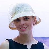 Аксессуары ручной работы. Ярмарка Мастеров - ручная работа соломенная шляпка «королева». Handmade.