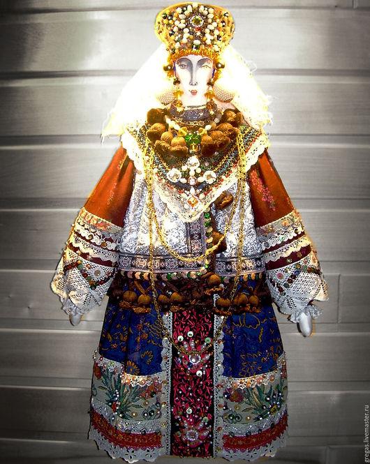 Одежда ручной работы. Ярмарка Мастеров - ручная работа. Купить Кукла - сувенир. Handmade. Подарок ручной работы, кукла интерьерная