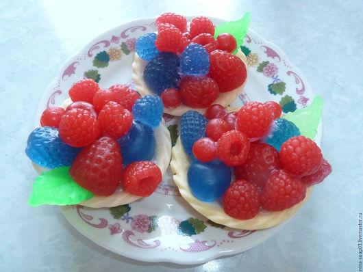 """Мыло ручной работы. Ярмарка Мастеров - ручная работа. Купить Мыло """"Тарталетка с ягодами"""". Handmade. Мыло ручной работы, подарок"""