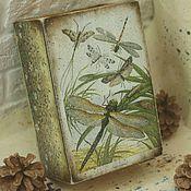 Для дома и интерьера handmade. Livemaster - original item A little bit of summer, wooden box. Handmade.