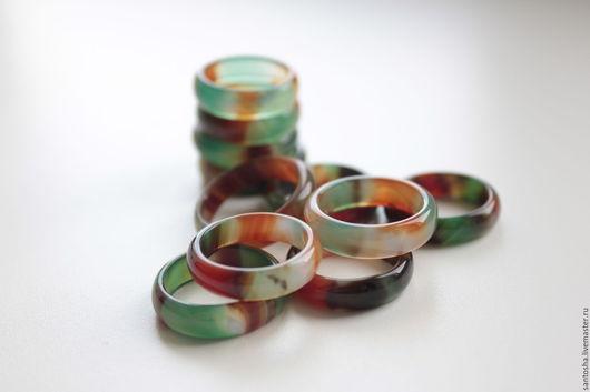 Минералы, друза ручной работы. Ярмарка Мастеров - ручная работа. Купить Агат радужный (KGS0040). Handmade. Комбинированный, кольцо из камня