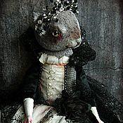 Куклы и игрушки ручной работы. Ярмарка Мастеров - ручная работа Кошка Вирджиния. Handmade.