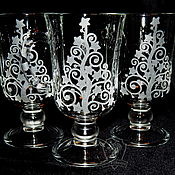 Посуда handmade. Livemaster - original item Christmas. A glass of mulled wine. Handmade.