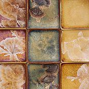 Для дома и интерьера ручной работы. Ярмарка Мастеров - ручная работа Плитка керамическая ручной работы. Handmade.