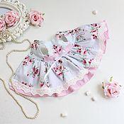 Одежда для кукол ручной работы. Ярмарка Мастеров - ручная работа Платье « шебби» для кукол паола Рейна. Handmade.
