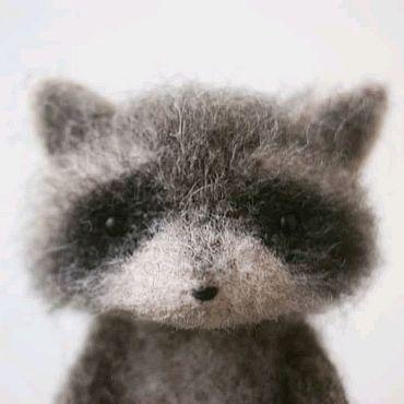 Куклы и игрушки ручной работы. Ярмарка Мастеров - ручная работа енотик. Handmade.