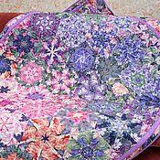 Одеяла ручной работы. Ярмарка Мастеров - ручная работа Лоскутное одеяло АРОМАТ ЦВЕТОВ. Handmade.