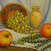 Картины и панно ручной работы. Ярмарка Мастеров - ручная работа Виноград. Handmade.