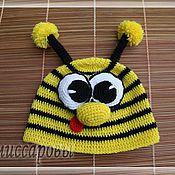 """Работы для детей, ручной работы. Ярмарка Мастеров - ручная работа шапка """"Пчелка"""". Handmade."""