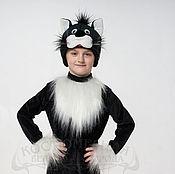 """Одежда ручной работы. Ярмарка Мастеров - ручная работа Костюм """"Кот"""" черный. Handmade."""