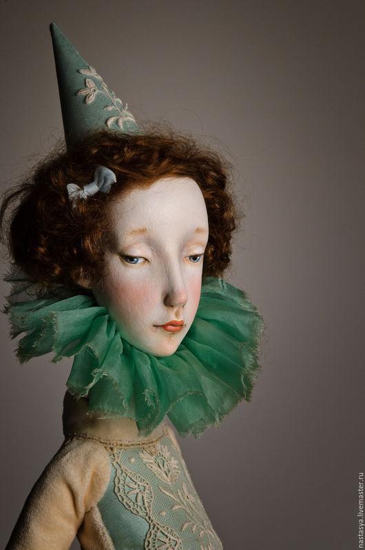 Коллекционные куклы ручной работы. Ярмарка Мастеров - ручная работа. Купить Авторская кукла Августина. Handmade. Белый, купить куклу
