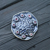 Украшения handmade. Livemaster - original item Brooch ceramic