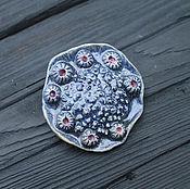 Brooches handmade. Livemaster - original item Brooch ceramic