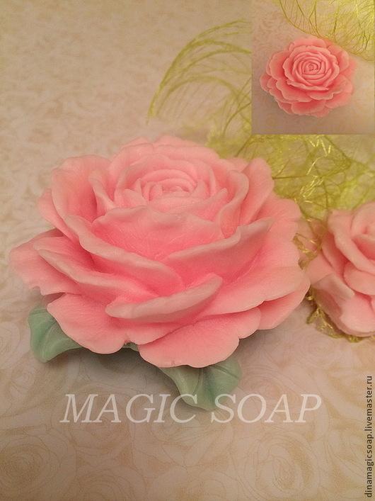 мыло 3d ручной работы ` Нежная роза`