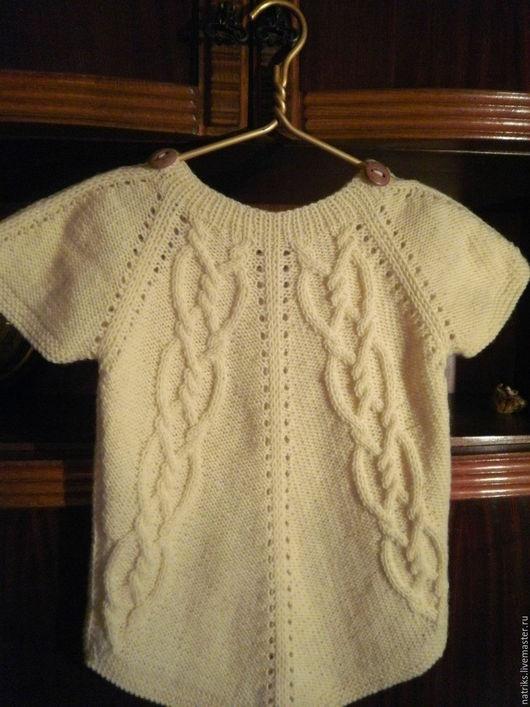 Кофты и свитера ручной работы. Ярмарка Мастеров - ручная работа. Купить Кофта-жилет Элин Размер 40. Handmade. Белый