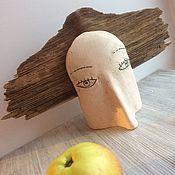 Для дома и интерьера ручной работы. Ярмарка Мастеров - ручная работа Ветер в голове. Кинетическая скульптура из дерева и керамики. Handmade.