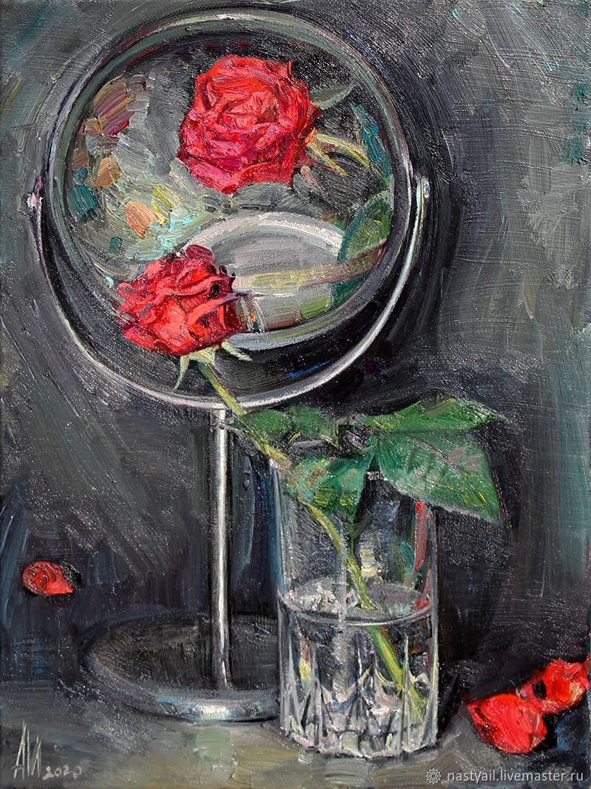 Красная роза, Картины, Москва,  Фото №1