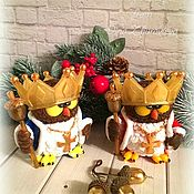 Косметика ручной работы handmade. Livemaster - original item soap Owl King. Handmade.
