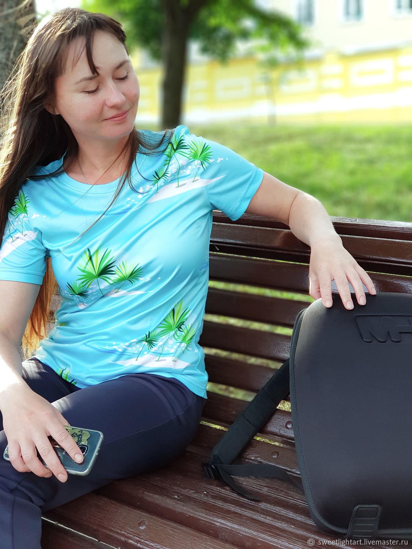 Women's t-shirt Island in the Ocean, T-shirts, Stavropol,  Фото №1