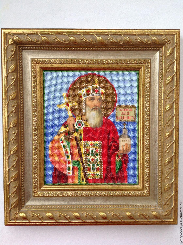Икона Святой Равноапостольный Князь Владимир, Иконы, Москва, Фото №1