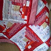 Для дома и интерьера ручной работы. Ярмарка Мастеров - ручная работа Одеяло лоскутное Праздник. Handmade.