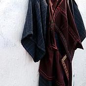 Одежда ручной работы. Ярмарка Мастеров - ручная работа кардиган  А-ЛЯ ШИНЕЛЬ. Handmade.