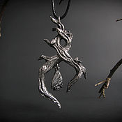 """Кулон ручной работы. Ярмарка Мастеров - ручная работа Кулон """"Бесконечная ночь"""". Handmade."""