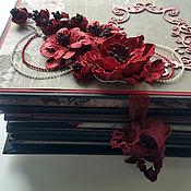 Фотоальбомы ручной работы. Ярмарка Мастеров - ручная работа фотоальбом скрапбукинг ручная работа. Handmade.