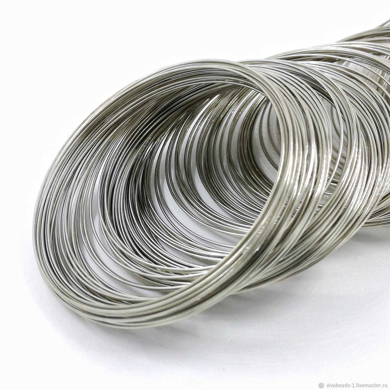 10 turns of Wire memory steel bracelet, gold (art. 139) – shop ...