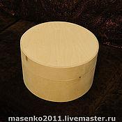 Материалы для творчества ручной работы. Ярмарка Мастеров - ручная работа Коробка  шляпная из дерева. Handmade.
