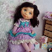 Куклы и пупсы ручной работы. Ярмарка Мастеров - ручная работа Кукла текстильная Александрина. Handmade.