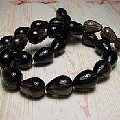 handmade. Livemaster - original item Smoky quartz Rauch Topaz drop. Handmade.