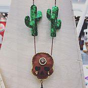 Украшения ручной работы. Ярмарка Мастеров - ручная работа Мексиканские мотивы. Handmade.