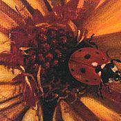 Картины и панно handmade. Livemaster - original item Oil painting To the sun. Handmade.