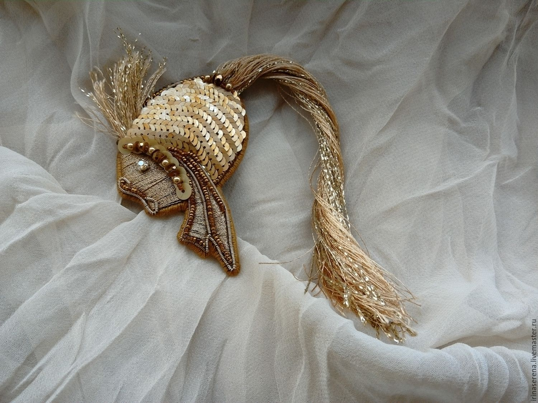 Объемная вышивка паетками мастер класс 44