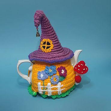Для дома и интерьера ручной работы. Ярмарка Мастеров - ручная работа Комплекты аксессуаров для дома: чайник с грелкой. Handmade.