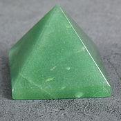 Фен-шуй и эзотерика handmade. Livemaster - original item Pyramid natural green aventurine 3.8*3.8. Handmade.