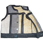 Одежда handmade. Livemaster - original item Nettle vest for men. Handmade.