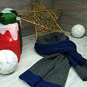handmade. Livemaster - original item 100% cashmere scarf Loro Piana (Italy). Handmade.