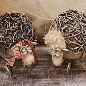 Куклы и игрушки ручной работы. Ярмарка Мастеров - ручная работа овечка Дуся и Фрося. Handmade.