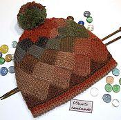 Аксессуары handmade. Livemaster - original item Knitted cap
