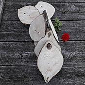 Материалы для творчества handmade. Livemaster - original item saw cut wood: Ash polished on both sides ( set of 7 PCs). Handmade.