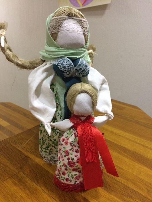 """Народные куклы ручной работы. Ярмарка Мастеров - ручная работа. Купить Славянская оберегая кукла """"Ведучка"""" (ведущая по жизни). Handmade."""