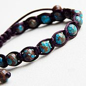 Украшения handmade. Livemaster - original item Marika bracelet made of jasper. Handmade.