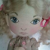 Куклы и игрушки ручной работы. Ярмарка Мастеров - ручная работа Интерьерная текстильная кукла Машенька в пижамке. Handmade.