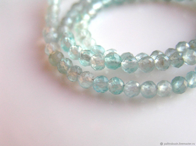 Beads: Apatite 3mm 10 pieces, Beads1, Tyumen,  Фото №1