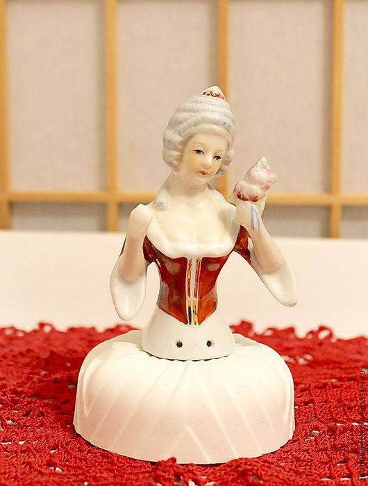 """Винтажные куклы и игрушки. Ярмарка Мастеров - ручная работа. Купить Куколка-половинка Half dolls """"Леди Викторианской Эпохи"""". Handmade."""