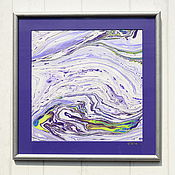 Картины и панно ручной работы. Ярмарка Мастеров - ручная работа живопись на воде 14. Handmade.